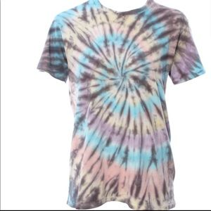 Nwot DAYDREAMER large tie dye tee shirt